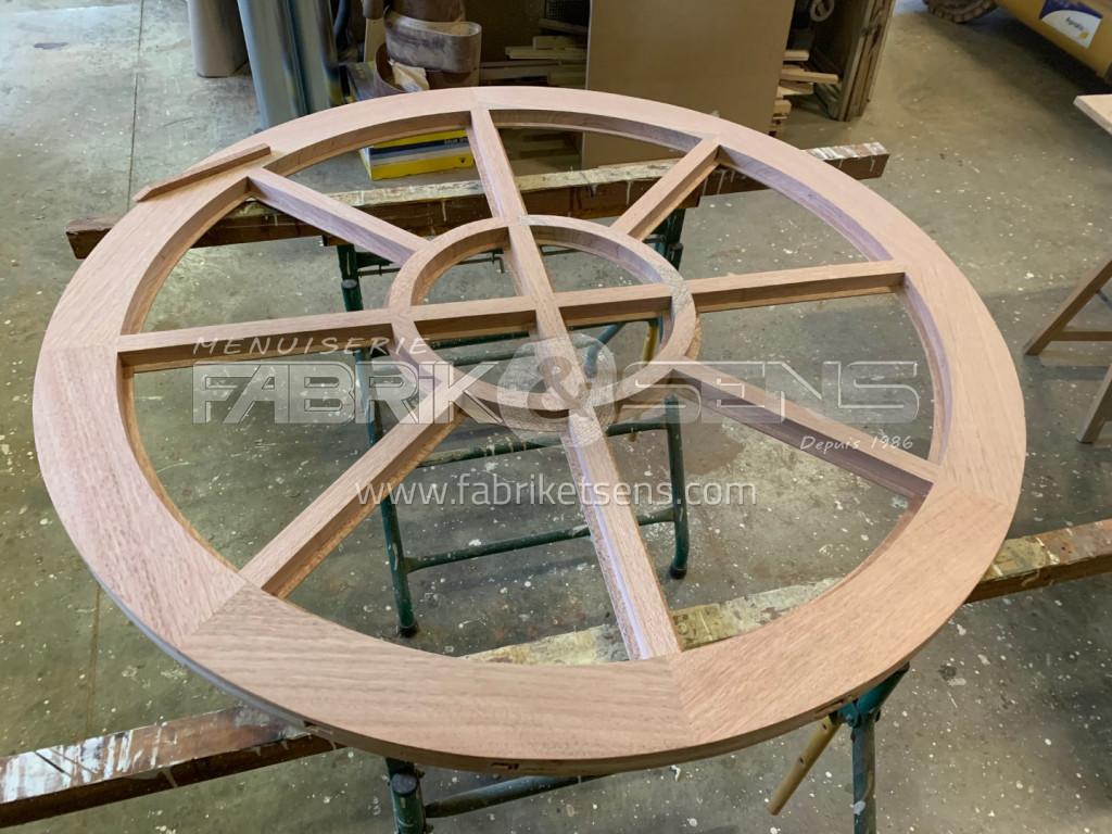Etude et fabrication Fenêtre châssis fixe en bois proche de Châtillon-sur-Chalaronne (01 ...